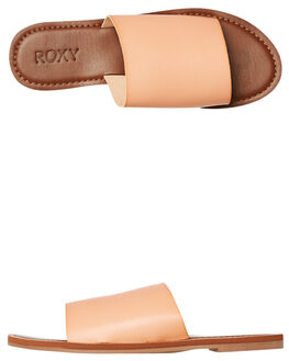 BLUSH WOMENS FOOTWEAR ROXY SLIDES - ARJL200654BSH
