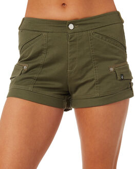 DARK CAMO WOMENS CLOTHING VOLCOM SHORTS - B0931875DCA