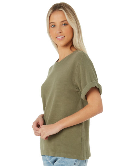 GREEN WOMENS CLOTHING SWELL TEES - S8183003GREEN
