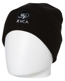 6e2f986bc15212 BLACK MENS ACCESSORIES RVCA HEADWEAR - R193570ABLK