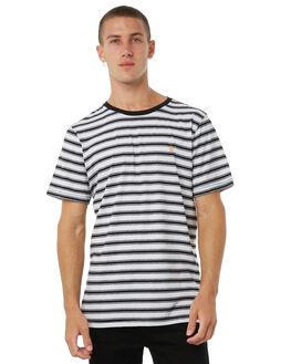 WHITE MENS CLOTHING VOLCOM TEES - A0111802WHT