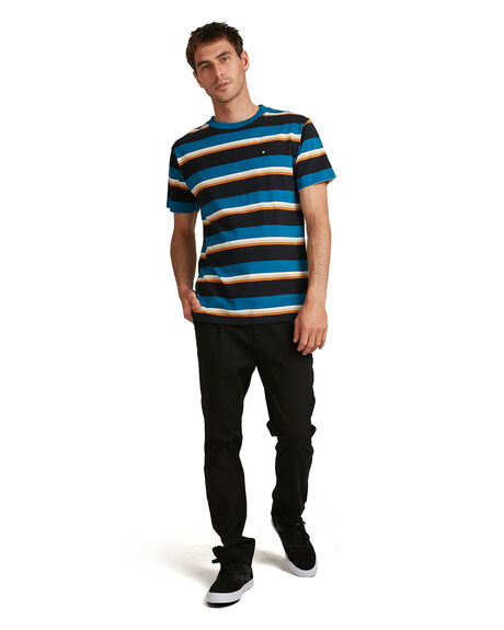 BLUE SAPPHIRE MENS CLOTHING DC SHOES TEES - ADYKT03150-BRM0