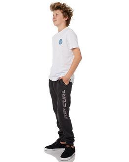 BLACK KIDS BOYS RIP CURL PANTS - KPADK10090