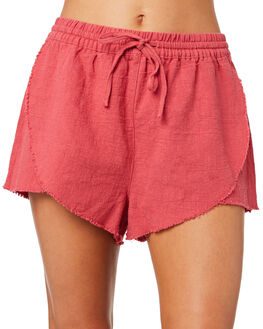 VINTAGE ROSE WOMENS CLOTHING RUSTY SHORTS - WKL0629VRS