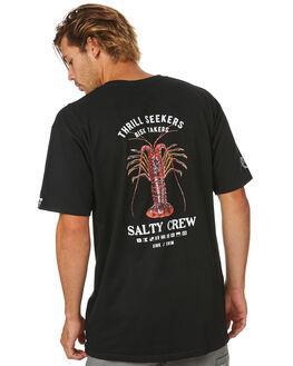 BLACK MENS CLOTHING SALTY CREW TEES - 20035141BLK