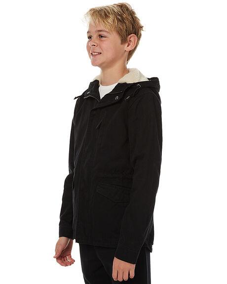 BLACK KIDS BOYS SWELL JACKETS - S3172381BLK