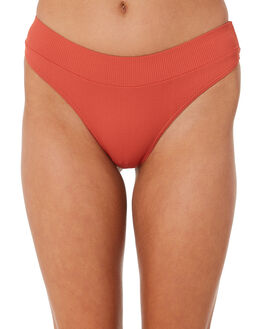 RUST WOMENS SWIMWEAR RIP CURL BIKINI BOTTOMS - GSIZO10530