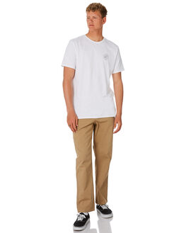 KHAKI MENS CLOTHING DEPACTUS PANTS - D5201192KHAKI