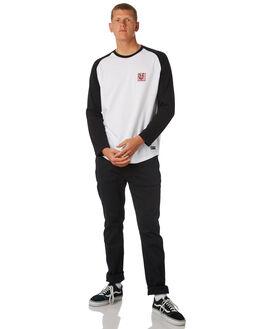 FLINT BLACK MENS CLOTHING ELEMENT TEES - 183059FBLK