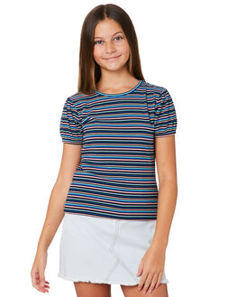 STRIPE KIDS GIRLS THE HIDDEN WAY TOPS - H6202002STRIP