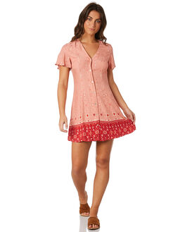 MULTI WOMENS CLOTHING SOMEDAYS LOVIN DRESSES - IL18F1453MULT