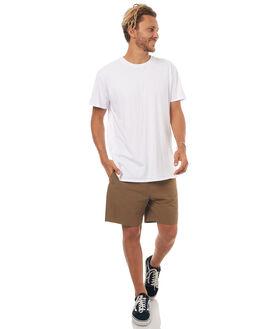 KHAKI MENS CLOTHING RPM SHORTS - 7SMB01BKHA