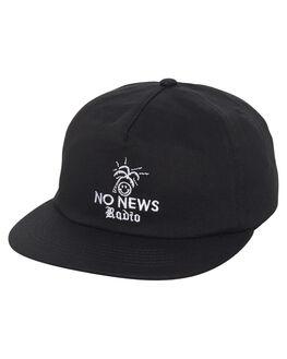 BLACK MENS ACCESSORIES NO NEWS HEADWEAR - N51711612BLK