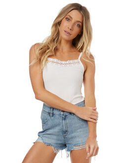 WHITE OUTLET WOMENS THE HIDDEN WAY FASHION TOPS - H8171174WHITE