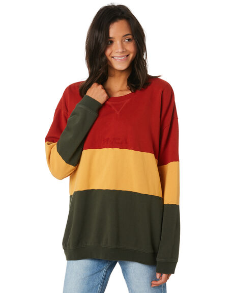 MULTI WOMENS CLOTHING RVCA JUMPERS - R293158MUL