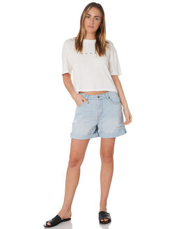 SALT BLUE WOMENS CLOTHING RUSTY SHORTS - WKL0645STE