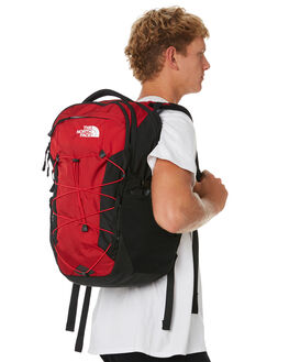 TNF RED TNF BLACK MENS ACCESSORIES THE NORTH FACE BAGS + BACKPACKS - NF0A3KV3G2E