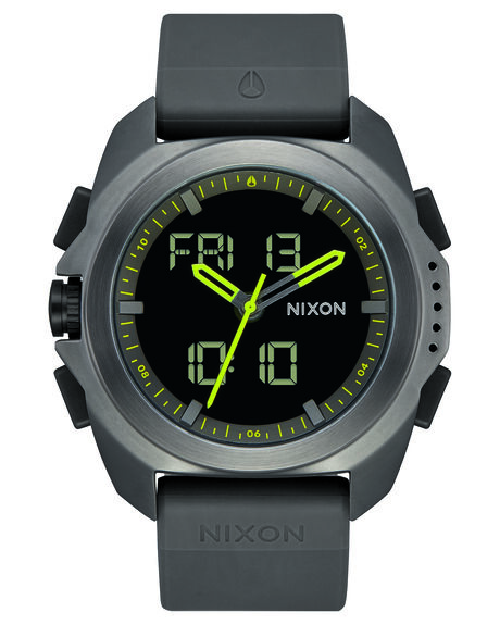 GUNMETAL MENS ACCESSORIES NIXON WATCHES - A1267-131GUN