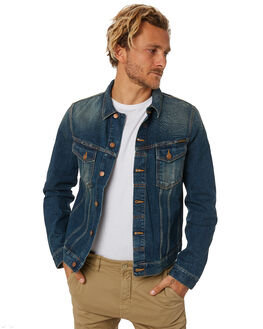 DARK AUTHENTIC MENS CLOTHING NUDIE JEANS CO JACKETS - 160534B26