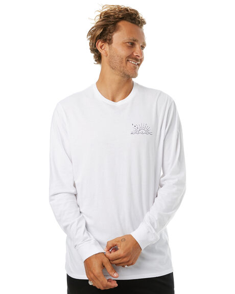 WHITE MENS CLOTHING SWELL TEES - S5171104WHITE