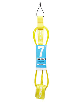 TAXI CAP YELLOW SURF HARDWARE FCS LEASHES - 2001-TCY-07FTCABY