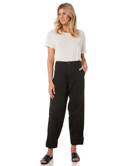 BLACK WOMENS CLOTHING RUSTY PANTS - PAL1084BLK