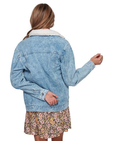 BLUE ACID WOMENS CLOTHING BILLABONG JACKETS - BB-6507892-BL6