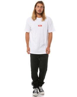 BLACK MENS CLOTHING STUSSY PANTS - ST081616BLK