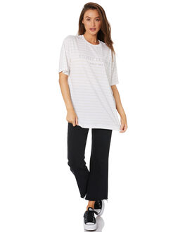 STRIPED WOMENS CLOTHING STUSSY TEES - ST105005STP