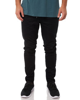 BLACK MENS CLOTHING ZANEROBE PANTS - 705-LYKMBLK