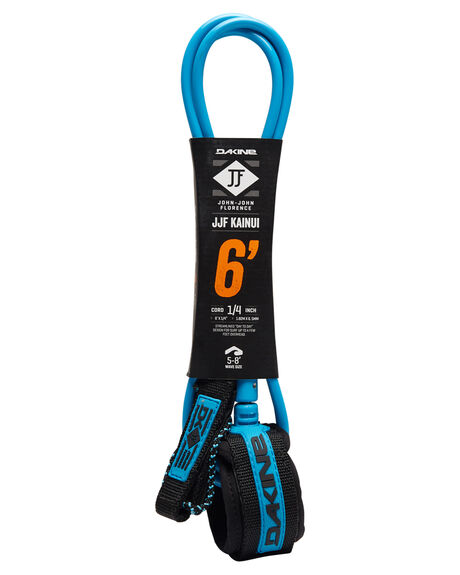 BLACK BLUE BOARDSPORTS SURF DAKINE LEASHES - 10001793BLKBL