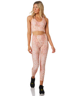 LEOPARD PRINT WOMENS CLOTHING LORNA JANE ACTIVEWEAR - WS1019207LEO
