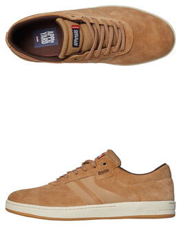TOBACCO GUM MENS FOOTWEAR GLOBE SKATE SHOES - GBEMPIRE-17295