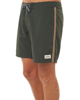 OLIVE MENS CLOTHING RHYTHM BOARDSHORTS - DEC17M-SS02OLI