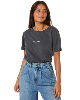 EBONY WOMENS CLOTHING THRILLS TEES - WTW20-100BEBY