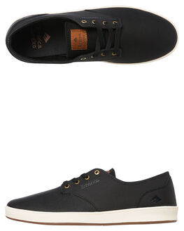 BLACK BRONZE MENS FOOTWEAR EMERICA SKATE SHOES - 6102000089-987
