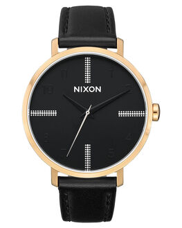 GOLD BLACK SILVER WOMENS ACCESSORIES NIXON WATCHES - A1091-2879-GLDBL