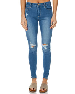 OFF KILTER BLUE WOMENS CLOTHING RIDERS BY LEE JEANS - R-551217-CG1OFFK