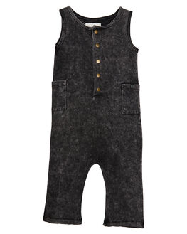 BLACK KIDS BABY CHILDREN OF THE TRIBE CLOTHING - BYOV0316BLK
