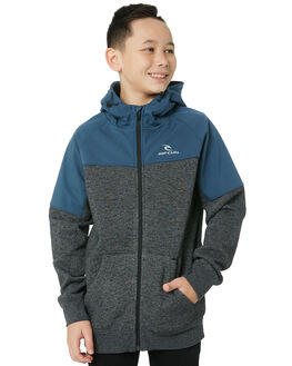 SLATE BLUE KIDS BOYS RIP CURL JUMPERS + JACKETS - KFEKS11115