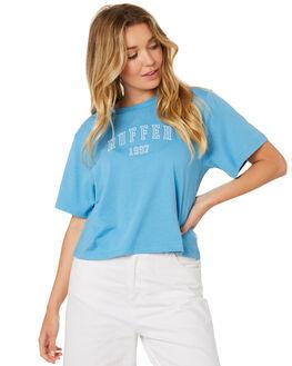 ISLAND BLUE WOMENS CLOTHING HUFFER TEES - WTE84S7222ISLA