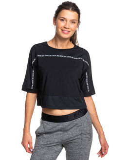 TRUE BLACK WOMENS CLOTHING ROXY ACTIVEWEAR - ERJKT03579-KVJ0
