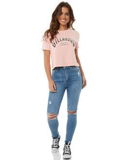 ASH ROSE WOMENS CLOTHING BILLABONG TEES - 6585003RSE