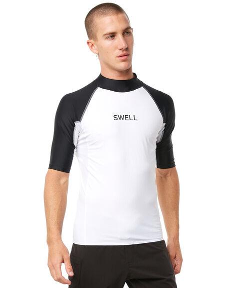 WHITE SURF RASHVESTS SWELL MENS - S5164053WHT