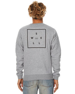 GREY MARLE MENS CLOTHING SWELL JUMPERS - S5173450GRY