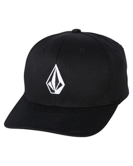 BLACK MENS ACCESSORIES VOLCOM HEADWEAR - D55115S0BLK