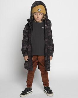 BLACK CAMO KIDS BOYS MUNSTER KIDS JUMPERS + JACKETS - MK182JK01BLKC