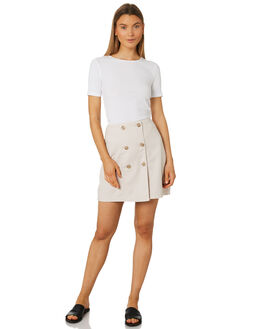 SAND WHITE WOMENS CLOTHING THE FIFTH LABEL SKIRTS - 40190183-9SANW