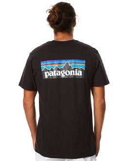 BLACK MENS CLOTHING PATAGONIA TEES - 38906BLK