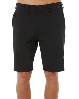 BLACK MENS CLOTHING HURLEY SHORTS - 895082010